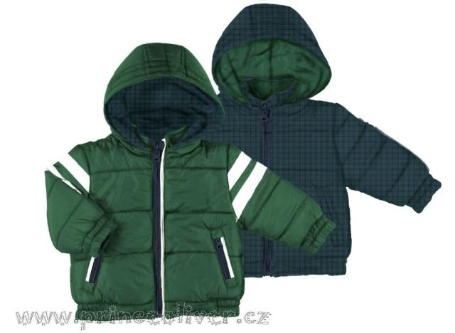 Detail - BCM2454 oboustranná zimní bunda zelená 941ee10ec4